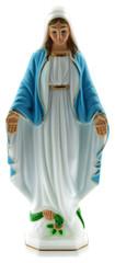 statuette Vierge Marie Immaculée Conception fond blanc