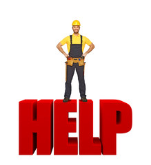 handyman offer his help