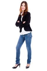 fashion female model standing