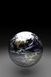 Brilliant Globe of Earth