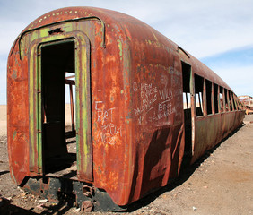 Train cemetery Bolivia