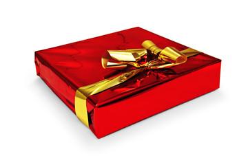 Geschenkpaket rot