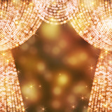 Fototapety 光のカーテン