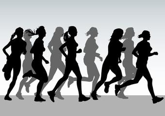 Running group women