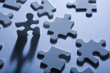 Hombrecito de Puzzle