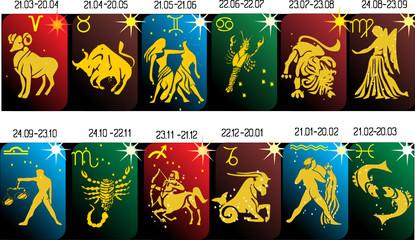 zodiac symbols collection