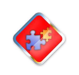 puzzle schild