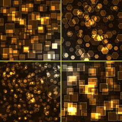 Abstract background - set