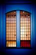 mystic window illuminated on the inside