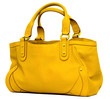 canvas print picture - Yellow bag