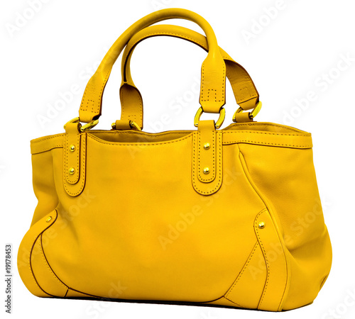 canvas print picture Yellow bag