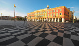 plaza Massena Square in the city of Nice, France - 19181054
