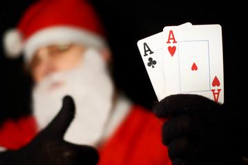 Santa poker 4
