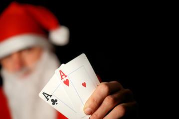 Santa poker 3