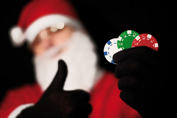 Santa poker 1