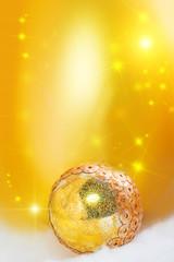 Goldish bright festive background