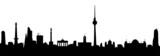 Fototapety Berlin Skyline Vektor