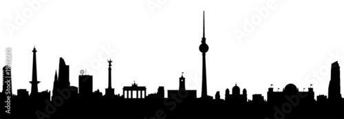 Fototapeta Berlin Skyline Vektor
