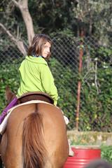 Anita a cavallo