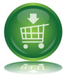 ADD TO CART Button (Shopping List Commerce Basket Green Vector)