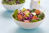 Mixed Leafy Salad in a Bowl