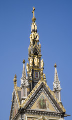 London - detail from Albert memorial