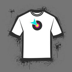 T-shirt templete
