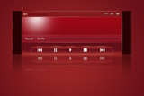 Media player interface poster