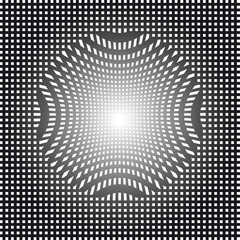 op art vector illustration abstract