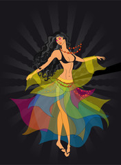 dancer, a gypsy