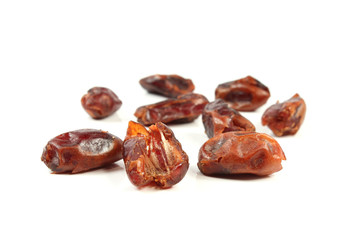 dried red date isolated