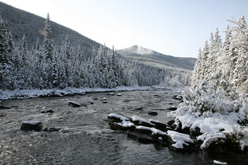 Sheep River Kananaskis Country