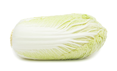 Napa cabbage, isolated on white