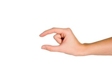 Hand depict symbol