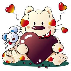バレンタインデーと猫