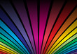 roleta: Rainbow colored background