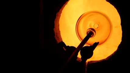 Creazione di una ciotola di vetro