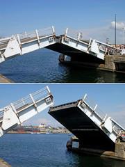 Ponte mobile in azione