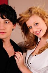 Jugendliches Paar