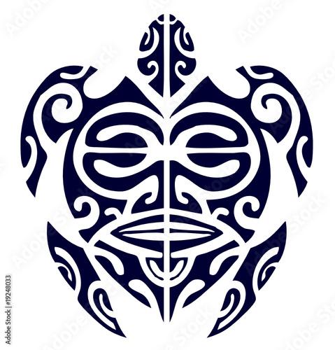 Tatuaggi on Tartaruga Maori 2 Di Frigororso  File Vettoriale Royalty Free