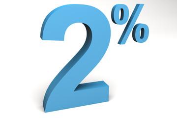 dos por ciento