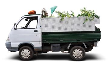 Camioneta de Parques y Jardines