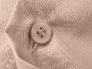 sepia toned shirt fragment