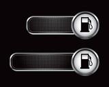 gas icon black tabs poster