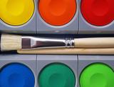Tusche Kasten - Deckfarbkasten - Opaque Paint Box poster