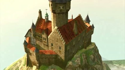 Fly to the Island Castle