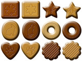 Biscotti Assortiti-Assorted Biscuits-Petits Fous Biscuits