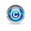 Picto copyright - Icon web 2.0