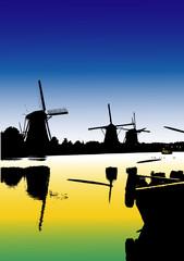 Paesaggi dal mondo - I mulini diKinderdijk - Olanda