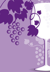 carta de vinos vino